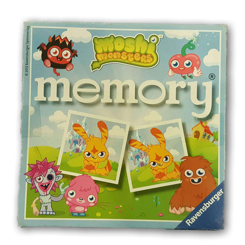Moshi Monsters Memory Cards