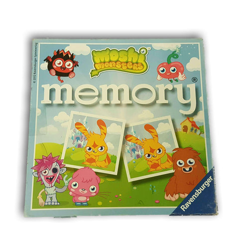 Moshi Monster Memory Game