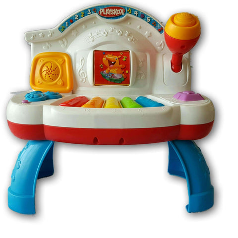 Playskool Rolling Tunes Piano Table