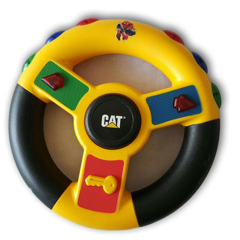 Cat Vibrating Sounds And Light Steering Wheel