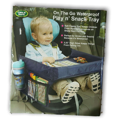 On The Go Waterproof Play And Snack Table