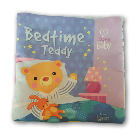 Cloth Book: Bed Time Teddy