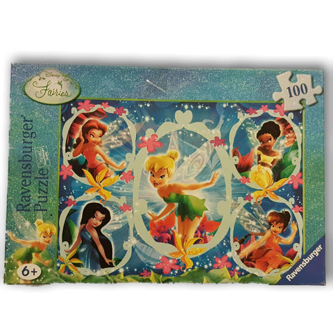 100pc Tinkerbell Puzzle