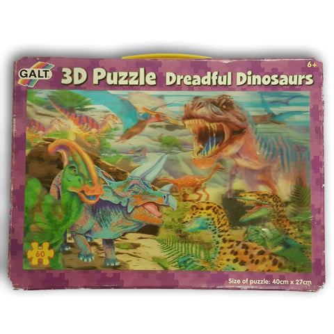 3D Puzzle Dreadful Dinosaurs