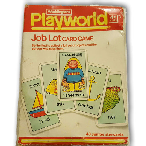 Playworld Job Lot Card Game