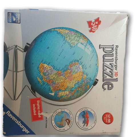 3D World Puzzleball