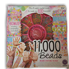 11,000 Beads NEW - Toy Chest Pakistan