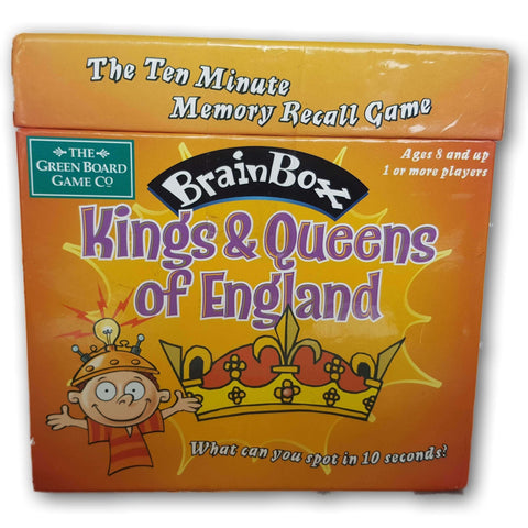 Brain Box Kings & Queens Of England