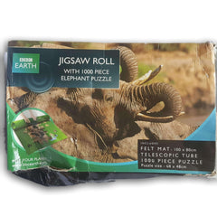 jigsaw roll with 1000 pc elephant puzzle - Toy Chest Pakistan