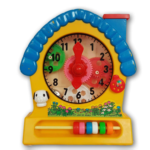 Tell The Time Cog Clock