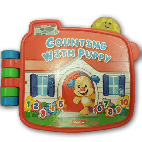 Laugh & Learn Counting With Puppy Book