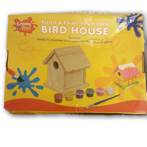 Build And Paint Your Own Bird House