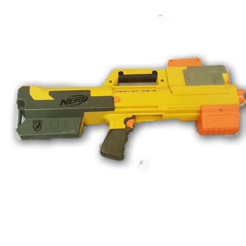 Nerf N-Strike Deploy CS-6 Dart Blaster with new pack of bullets