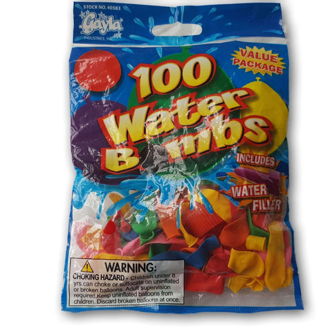 100 water balloons NEW