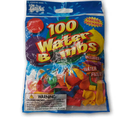 100 water balloons NEW - Toy Chest Pakistan