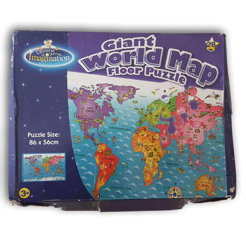 Map Puzzle - World map puzzle