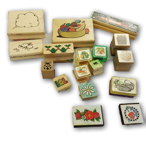 assorted stamp set