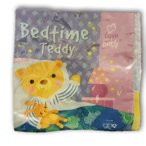 Cloth book: Bedtime Teddy