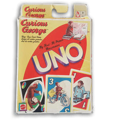 Curious George UNO - Toy Chest Pakistan