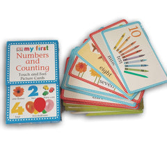 My first Numbers and Counting Touch and Feel Picture Cards - Toy Chest Pakistan