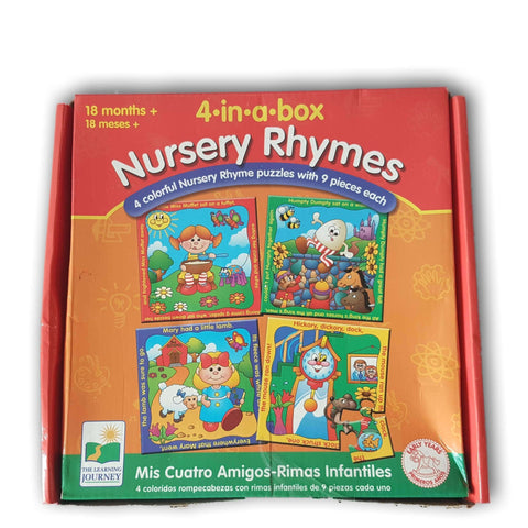 4 in a box Nursery Rhymes