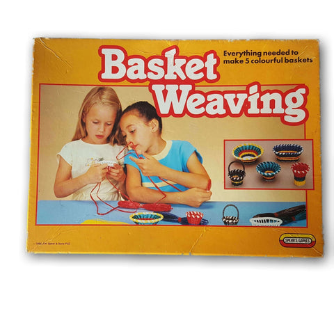 Basket Weaving`