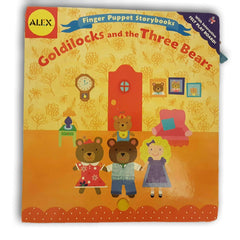 Finger Puppet story book goldilocks and the three bears - Toy Chest Pakistan