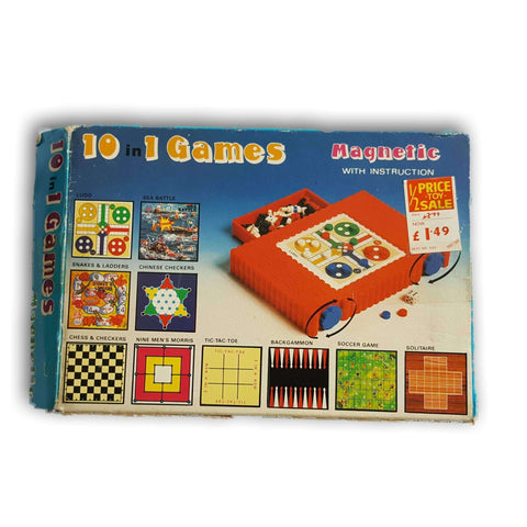 10-in-1 Magnetic Games