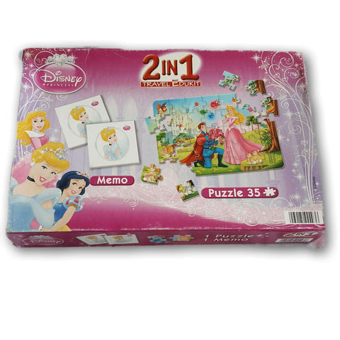 2 in 1 Disney Princess Puzz;e - Toy Chest Pakistan