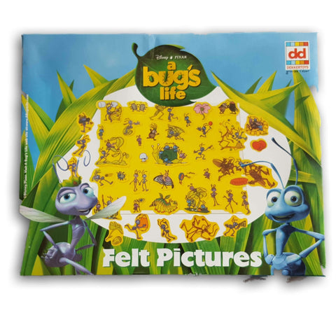 A bugs life felt pictures set NEW