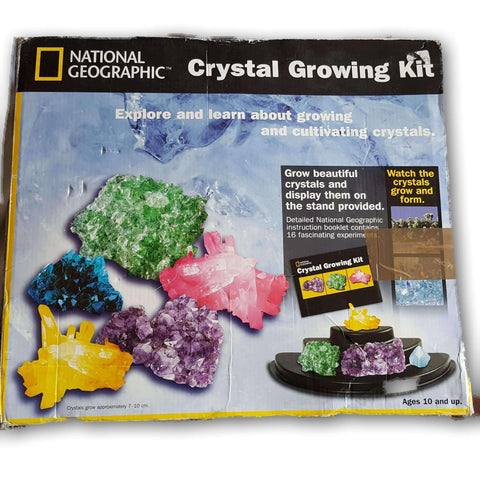 Crystal growing kit national geographic instructions