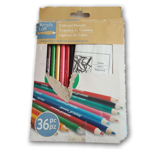 Artists' Loft 36 Colour Pencil Set
