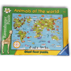 Animals Around the World Map Puzzle - Toy Chest Pakistan
