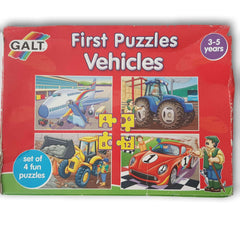 First Puzzles Vehicles - Toy Chest Pakistan