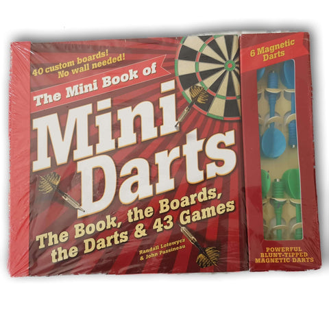 The Mini Book of Mini Darts NEW