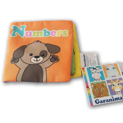 Cloth Book: Garanimals Numbers - Toy Chest Pakistan