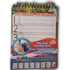 Dry Erase Learning Book Math Skills NEW