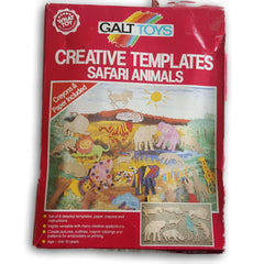 Creative Tempaltes, Safari Animals - Toy Chest Pakistan