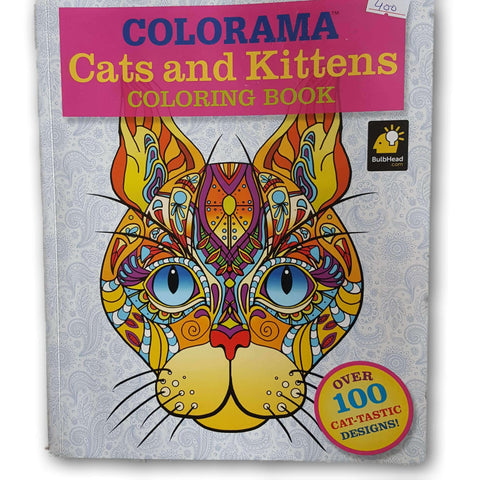 Adult Colouring book: Cats and Kittens