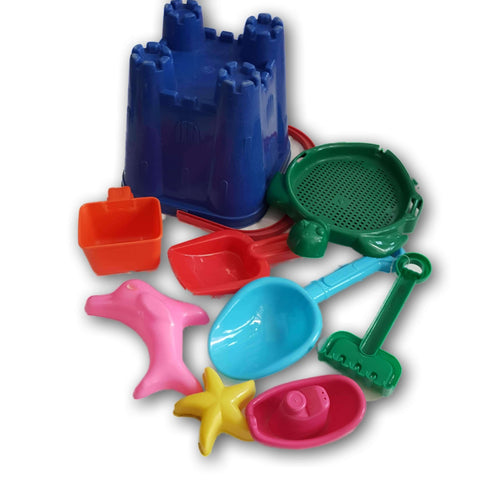 Beach Set (castle bucket and accessories)