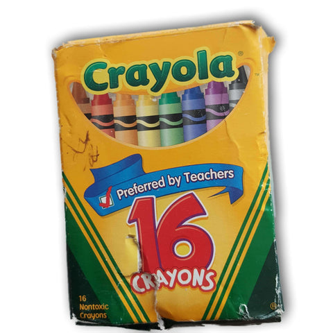 Crayola Crayons Pack Of 16