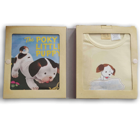 The Poky Little Puppy Book with Onesie NEW