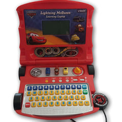 Lightning Mcqueen Learning Laptop - Toy Chest Pakistan
