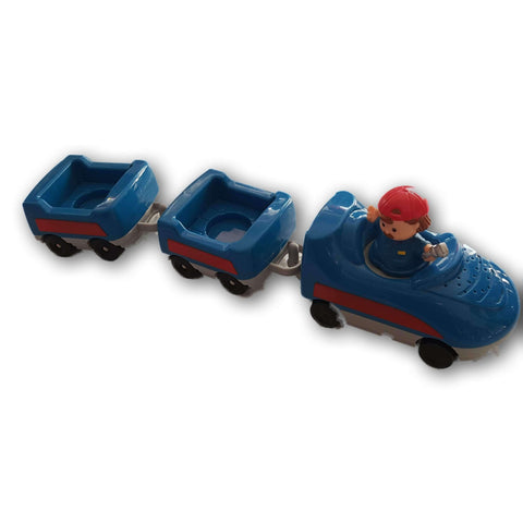 Little People Car And Buggy Set