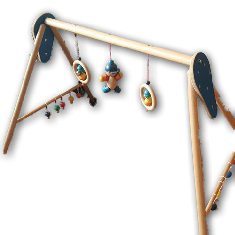 Wooden Baby Activity Gym
