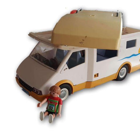 Playmobil Van with figure