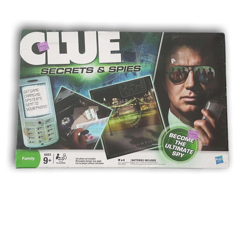 Clue Secrets and Spies - Toy Chest Pakistan