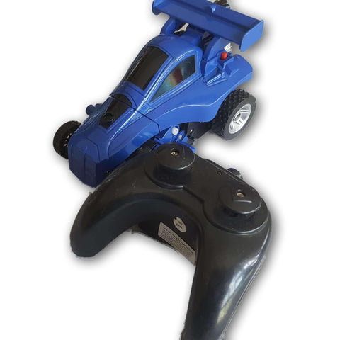 Remote controlled car- blue