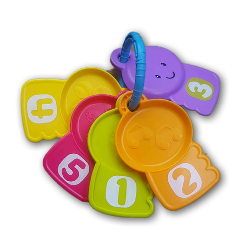 Fisher Price Count and Explore Keys - Toy Chest Pakistan