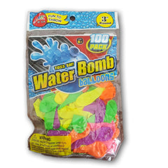 100 waterbomb baloons - Toy Chest Pakistan